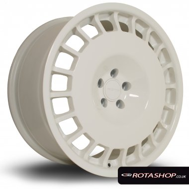 "Rota D154 18"" 8.5"" 5x114mm ET30 White Single Rim"