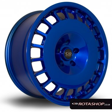"Rota D154 18"" 8.5"" 5x114mm ET30 Hyper Blue Single Rim"