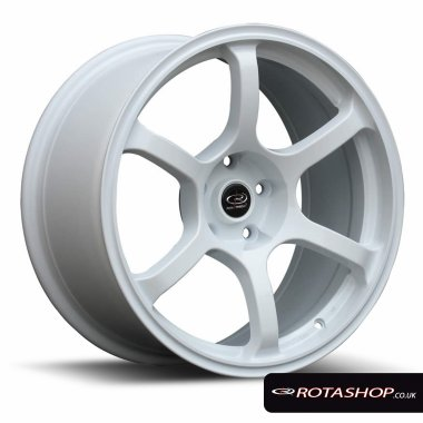 "Rota Boost 16"" 7"" 4x100mm ET45 White Single Rim"