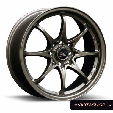 "Rota Fighter 8 16"" 7"" 4x100mm, 4x114mm ET40 Bronze Single Rim"