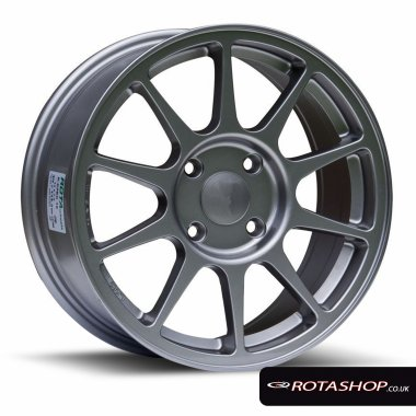 "Rota SPEC-R 16"" 7"" 4x100mm ET45 Anthracite Single Rim"