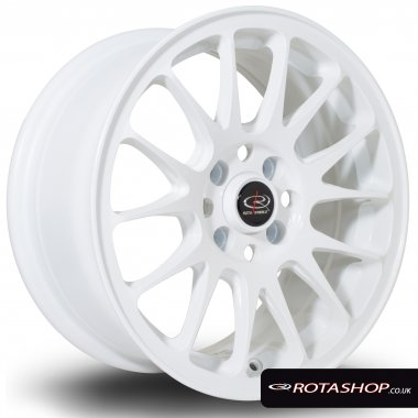 "Rota Vios 15"" 7"" 4x100 ET30 White Single Rim"